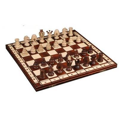 Шахматы Wiegel Royal-48 коричневые 2027