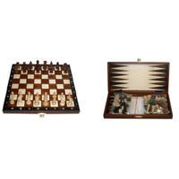 Шахматы туристические с шашками и нардами 2068