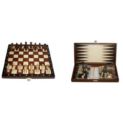 Шахматы Wiegel туристические с шашками и нардами 2068