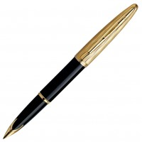 Перьевая ручка WATERMAN Essential Black/Gold FP F 11204