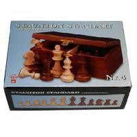 Фигуры шахматные  Staunton N4 2042