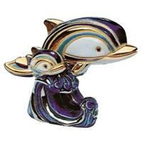 Керамическая фигурка Дельфин на волне DE ROSA RINCONADA