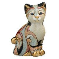 Керамическая фигурка Кошка Пятнистая DE ROSA RINCONADA