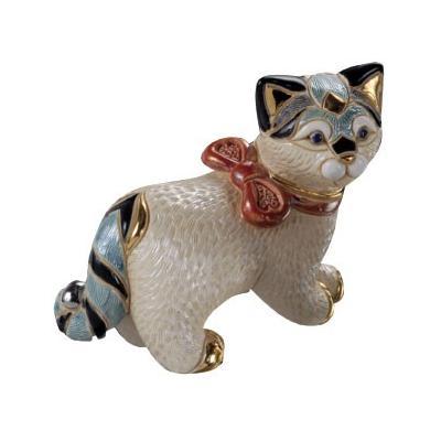 Керамическая фигурка Кошка с бантиком De Rosa Rinconada