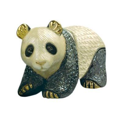 Керамическая фигурка Медведь Панда De Rosa Rinconada