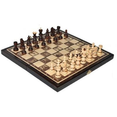 Шахматы Madon Pearl Small с вставкой 313403