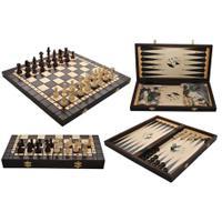 Шахматы BACKGAMON нарды+шахматы 3179