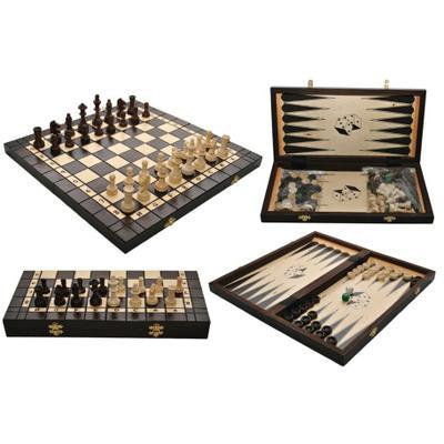 Шахматы Madon Backgamon + нарды 3179