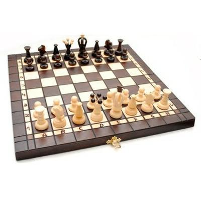 Шахматы Madon средние с шашками и нардами 3180