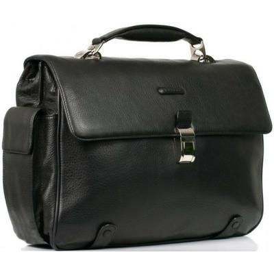 Мужской кожаный портфель с отделением для ноутбука Piquadro CA1066MO_N