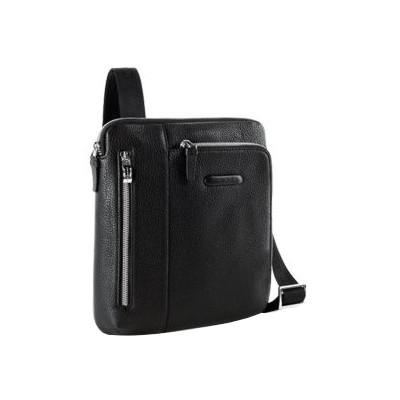 Мужская сумка из натуральной кожи вертикальная на ремне Piquadro CA1816MO_N