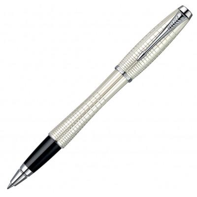 Ручка-роллер Parker Premium Pearl Metal Chiselled RB 21222Б