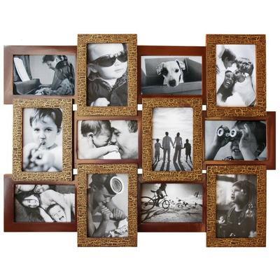 Фоторамка Мультирамка Шоколад на 12 фото
