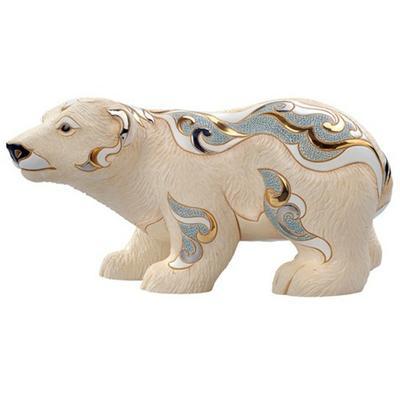 Керамическая фигурка De Rosa Rinconada Медведь Полярный