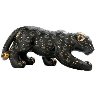 Керамическая фигурка De Rosa Rinconada Пантера Черная