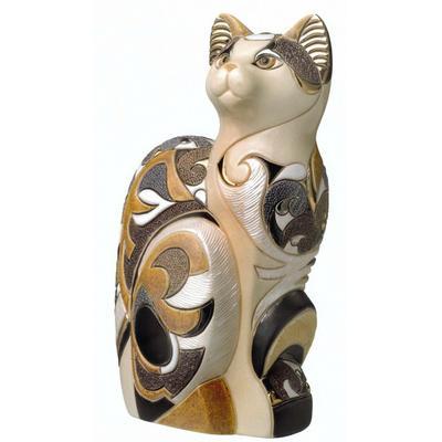 Керамическая фигурка De Rosa Rinconada Кошка Египетская