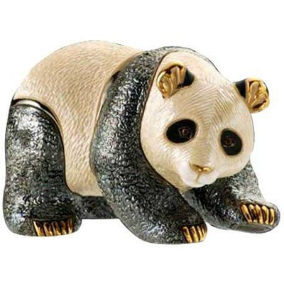 Керамическая фигурка De Rosa Rinconada Медведь Панда
