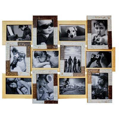 Деревянная мультирамка Руноко Клеопатра на 12 фото