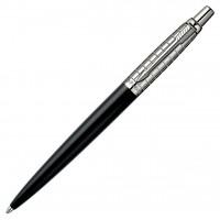 Шариковая ручка PARKER JOTTER  Premium Satin Black SS Chiselled 15332B