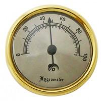 Гигрометр золотистый 92110