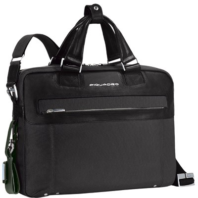 Мужской кожаный портфель с отделением для ноутбука Piquadro CA1903LK_N