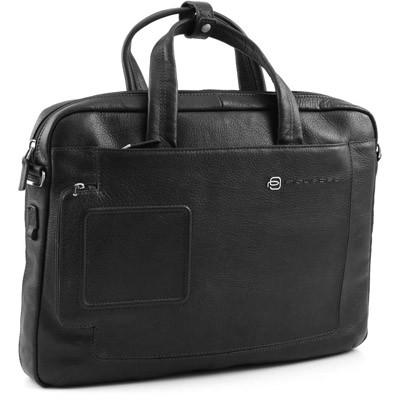 Мужской кожаный портфель с отделением для ноутбука Piquadro CA1903VI_N