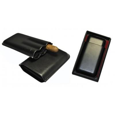 Футляр для 3-х сигар 81312