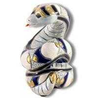 Керамическая фигурка De Rosa Rinconada Dr156w-f-95 Змея белая