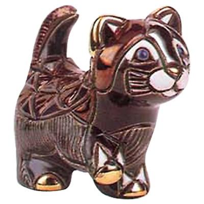 Керамическая фигурка Котёнок черный идущий De Rosa Rinconada