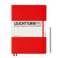 Блокнот Leuchtturm1917 Мастер Слим красный