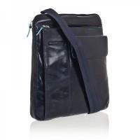 Мужская кожаная сумка на ремне Piquadro CA1815B2_BLU2