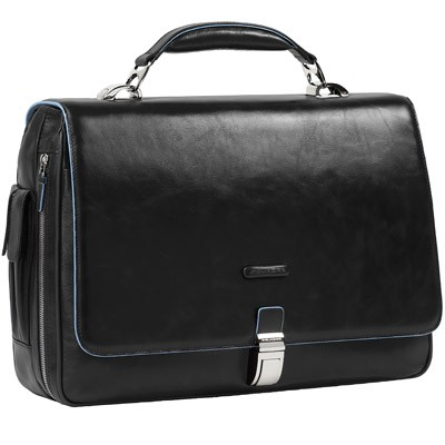 Мужской кожаный портфель с отделением для ноутбука Piquadro CA1744B2_N