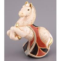 Керамическая фигурка  De Rosa Rinconada Конь белый