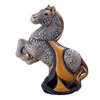Керамическая фигурка  De Rosa Rinconada Конь серый