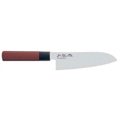 Нож сантоку 170 мм KAI Seki Magoroku Red Wood