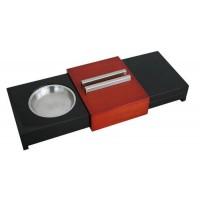 Хьюмидор для 5-ти сигар с пепельницей 49160