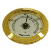 Гигрометр золотистый 92121