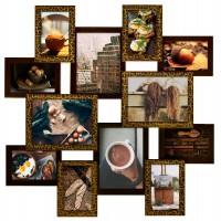 Фоторамка Мультирамка Руноко Путешествие Шоколад на 12 фото