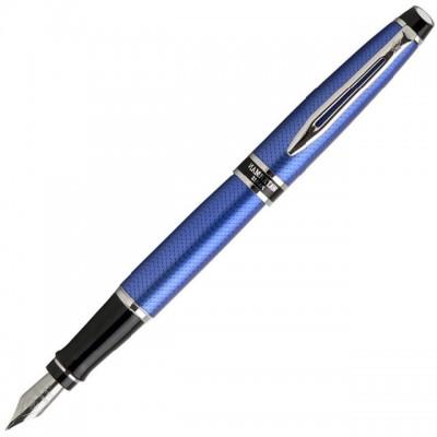 Перьевая ручка Waterman Expert Urban Blue CT 10 030 с чехлом