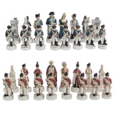 Шахматные фигуры Nigri Scacchi Битва Ватерлоо small size SP36/59