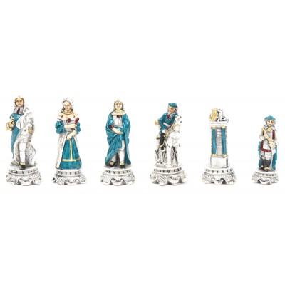 Шахматные фигуры Nigri Scacchi Luigi XIV medium size