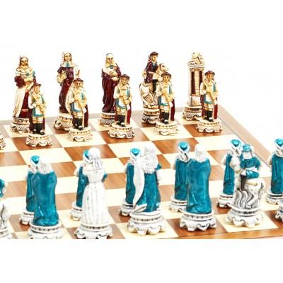 Шахматные фигуры Nigri Scacchi Luigi XIV Extra size