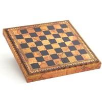Шахматный бокс биокожа Nigri Scacchi Карта CD48M