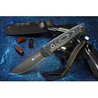 Нож Kizlyar Supreme туристический Santi D2 Black