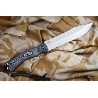 Нож Kizlyar Supreme туристический Safari AUS-8 Satin