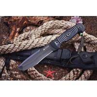 Нож Kizlyar Supreme туристический Vendetta D2 Black
