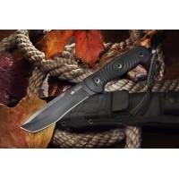 Нож Kizlyar Supreme туристический Vendetta AUS-8 Black