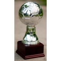 Статуэтка Astra Argenti Мяч футбольный серебристый большой