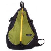 Рюкзак на одно плечо Onepolar W1305-green