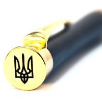 Шариковая ручка Parker Urban Muted Black GT Трезубец
